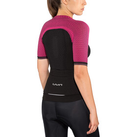 UYN Biking Alpha OW Blouse korte mouwen Dames, blackboard/slush